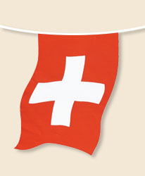 Switzerland Bunting - small