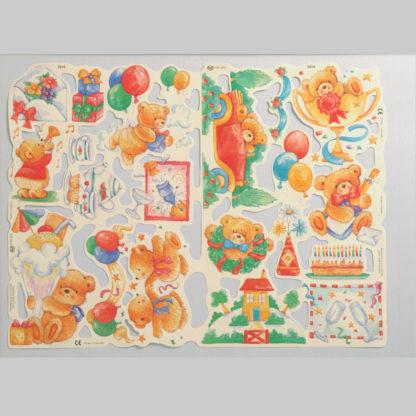Teddy Bear Scrap Sheet 10