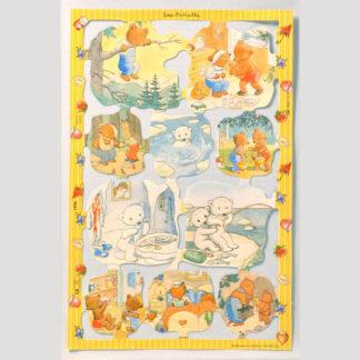 Teddy Bear Scrap Sheet 7