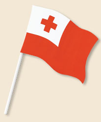 Tonga Handwaving Flags