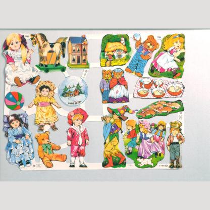 Toys Scrap Sheet 1