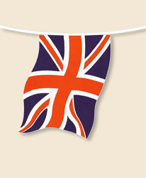 Union Jack Bunting - small