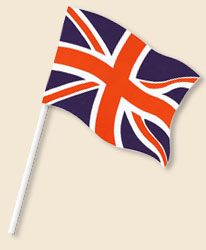 Union Jack Handwaving Flags