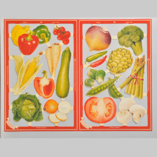 Vegetables Serendipity Scrap Sheet