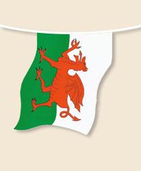 Wales Bunting - small
