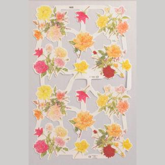 Wild Roses Scrap Sheet